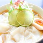 ワンタン麺って、、冷たい!!?