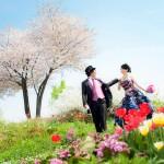 やっとご紹介!桜の前撮り♪inベルナティオ